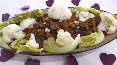 Image : Plat de boeuf brais faon crole
