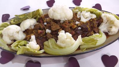 Cuisine antillaise : Plat de boeuf braisé façon créole