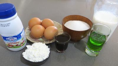 Ingrédients pour la recette : Crème pâtissière à l'Izarra