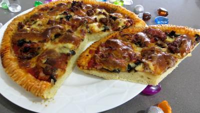 Graisse de canard : Pizza pauvre homme
