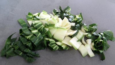 Choux farcis et blettes vapeur à la sauce tartare - 2.1