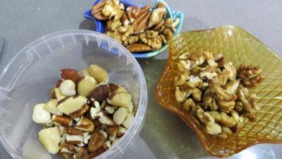 Pain au lard, aux noix et noix de pécan - 4.1