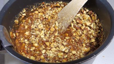 Tarte au caramel aux mendiants - 7.4