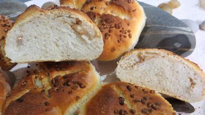 Recette Pains rustiques aux grains de blé