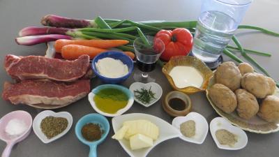 Ingrédients pour la recette : Cottage Pie revisité