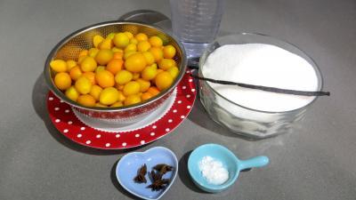 Ingrédients pour la recette : Confit de kumquats