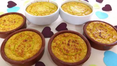 legumes : Cassolettes de chou chinois au fromage de chèvre frais