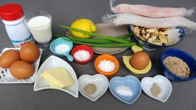 Ingrédients pour la recette : Filets de sole à la crème de coco
