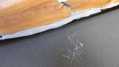 Filets de truite aux amandes et ananas - 1.2