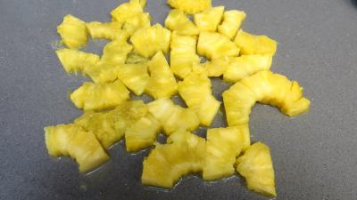 Filets de truite aux amandes et ananas - 1.4