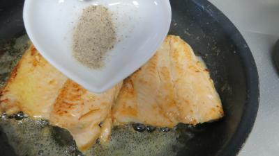 Filets de truite aux amandes et ananas - 5.4