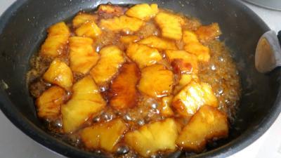 Filets de truite aux amandes et ananas - 9.1