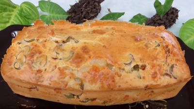 Recette Cake au fromage de chèvre