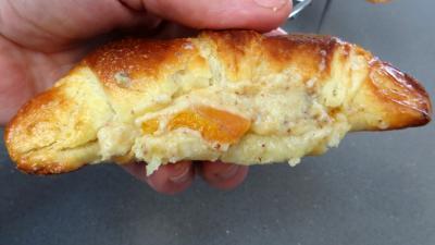 Croissants à la crème aux abricots - 14.2