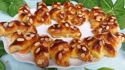 Croissants à la crème aux abricots - 15.2