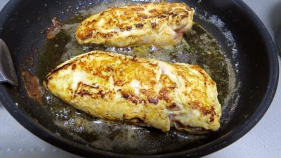 Sauce aux cerises et ses blancs de poulet - 6.2