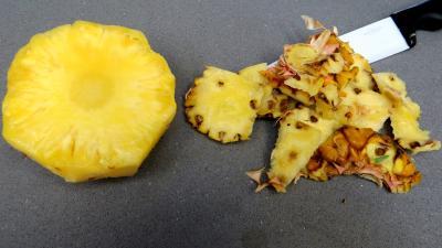 Tagliatelles fraîches aux oignons et ananas - 2.4