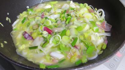 Tagliatelles fraîches aux oignons et ananas - 4.3