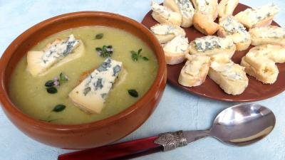 Crème de panais au bleu d'Auvergne - 8.2