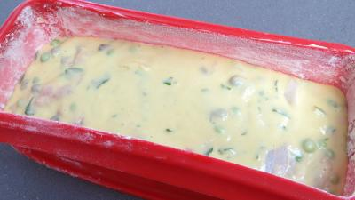 Cake à la saumonette et petits pois - 5.4