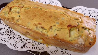 Cake à la saumonette et petits pois - 6.4