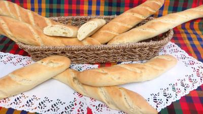 baguette : Panier de baguettes de pain de mie