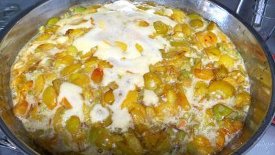 Confiture de prunes jaunes à la rhubarbe - 6.2