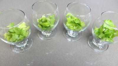 Fromage blanc aux concombres en verrines - 5.3