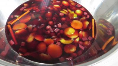 Confiture de restes de sangria aux prunes - 2.1