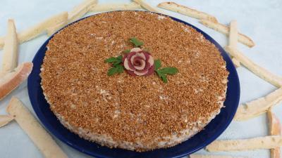 Amuse-bouche : Assiette de gâteau de fromages