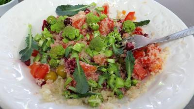 Salade de couscous aux physalis - 6.2