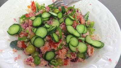 Salade de couscous aux physalis - 6.4