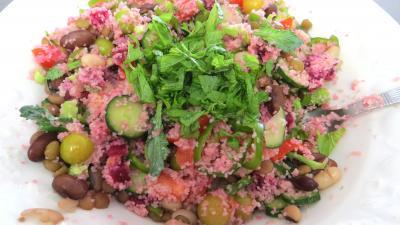 Salade de couscous aux physalis - 7.2