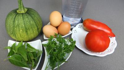 Ingrédients pour la recette : Salade de courgette