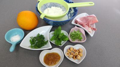 Ingrédients pour la recette : Cuillères au fromage blanc