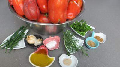 Ingrédients pour la recette : Sauce tomate épicée en conserve