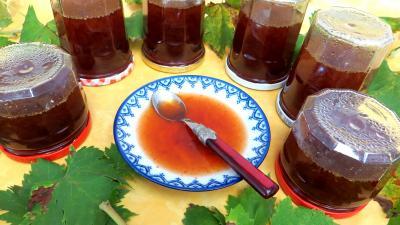 Gelée de raisins au reste de punch - 7.1