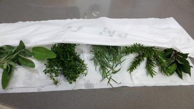 Conserves de légumes d'été (poivrons, poireaux, brocolis, épinards) - 1.2