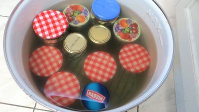 Conserves de légumes d'été (poivrons, poireaux, brocolis, épinards) - 10.1