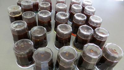 Gelée de raisins à la rhubarbe - 5.1