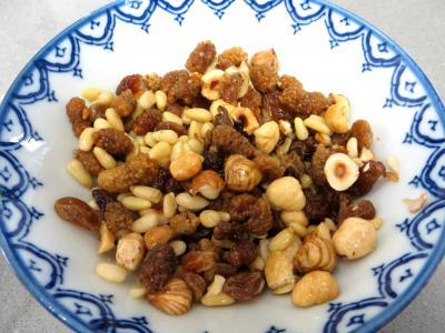 Couronnes de pain de mie aux fruits secs - 5.2