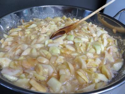 Confiture de pommes variées aux fruits secs - 4.1