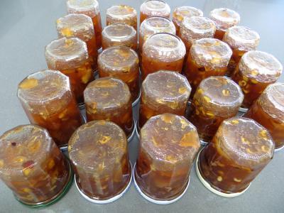Confiture de pommes variées aux fruits secs - 7.3