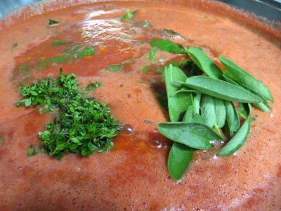Sauce tomates aux carottes (conserves) - 6.2