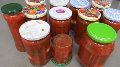 Sauce tomates aux oeufs (conserves) - 9.3