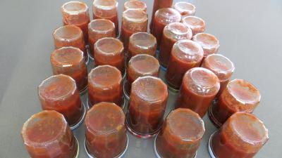 Sauce tomate pizza aux épinards (conserves) - 9.1