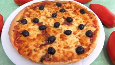 Pour débutants : Pizza aux blettes