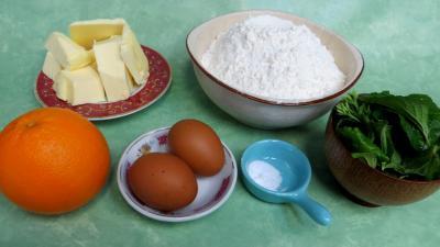 Ingrédients pour la recette : Pâte à tourte