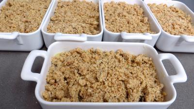 Crumble aux blettes en cassolettes - 7.2