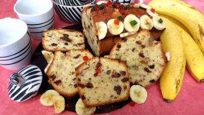 Recette Tranches de cake à la banane